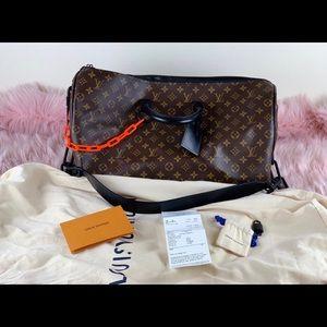 Louis Vuitton Keeppall duffle bag